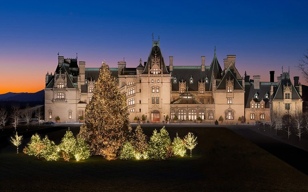 Home for the Holidays – Riders tour the Biltmore Estate