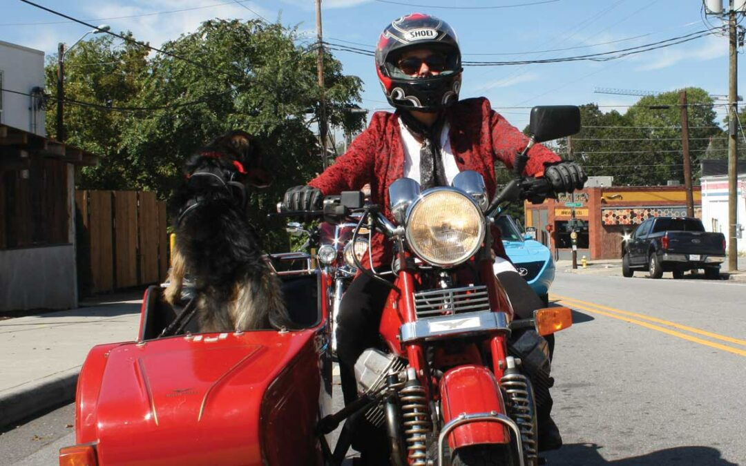 The Distinguished Gentleman's Ride: Sharp dressed men riding for a cause