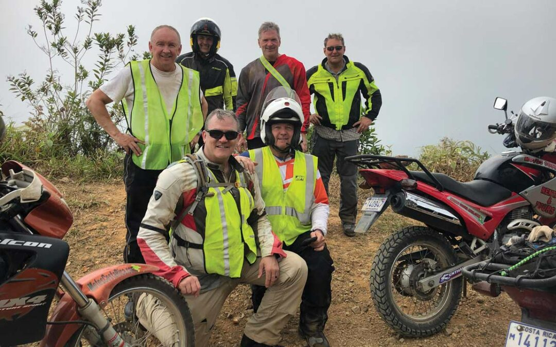 Blue Ridge Riders Tackle Three days in Costa Rica